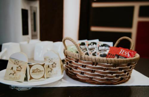 чайный стол холл отеля